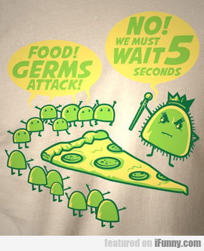Food! Germs Attack!