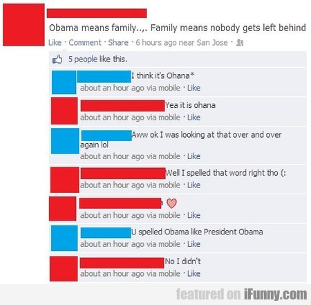 Obama Means Familly