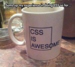 Sums Up My Experience In Doing Css...