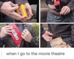 When I Go To The Movie Theater