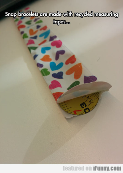 Snap Bracelets Are Made With...