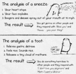The Analysis Of A Sneeze