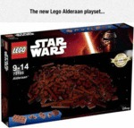 The New Lego Alderaan Playset...