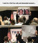 I Went To A Ted Cruz Rally And Demanded Answers...