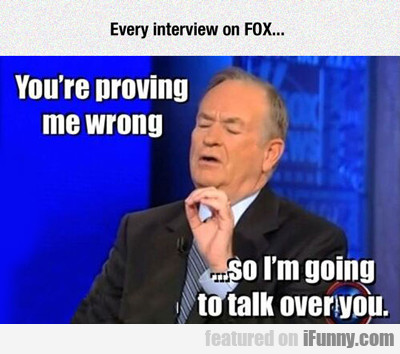 Every Interview On Fox..