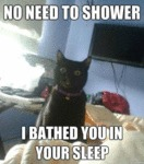 No Neeed To Shower