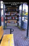 In Germany We're Reading Books...