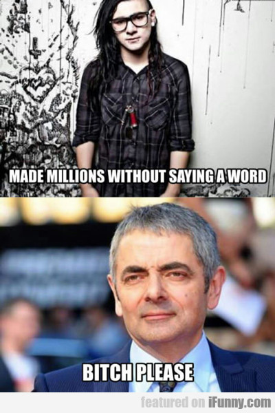 Made Millions Without Saying A Word...