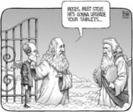 Moses Meet Steve He S Gonna Upgrade