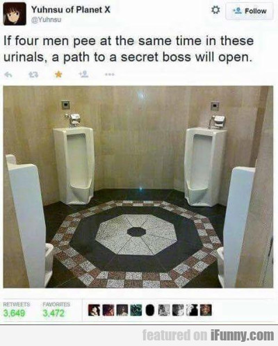 If Four Men Pee At The Same Time
