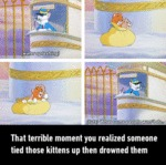 That Terrible Moment When You Realized...
