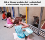 Kids In Missouri Practicing Their Reading...
