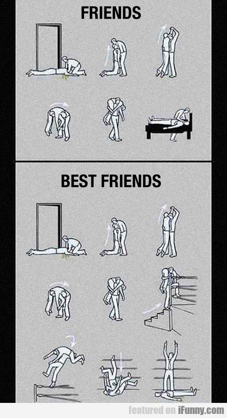 Main Difference Between Friends And Best Friends
