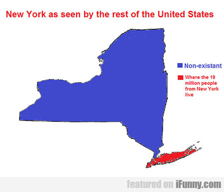 New York Seen By The Rest Of The United States