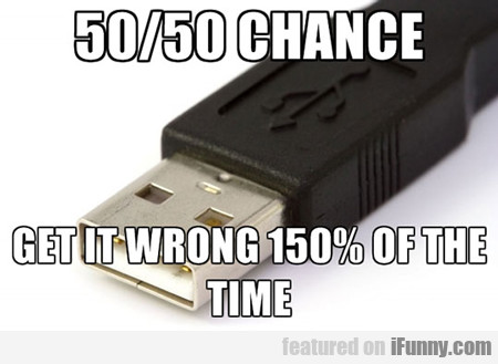 50/50 Chance, Get It Wrong 150% Of The Time