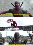 He's Going To Do The Superhero Landing...
