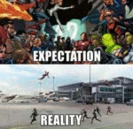 Civil War: Expectation Vs. Reality...