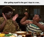 After Getting Myself To The Gym For Three Days...