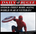 Spider-thief Robs Aging World War 2 Veteran...
