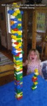 Well, Don't Say You Want A Lego Tower...