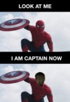 Look At Me, I Am The Captain Now...