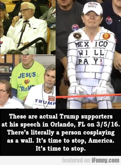 These Are Actual Trump Supporters...