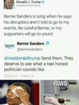 Bernie Sanders Is Lying...