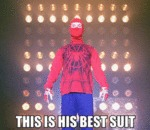 This Is His Best Suit..