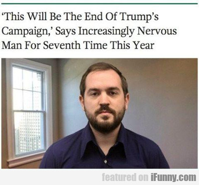 This Will Be The End Of Trump's Campaign...