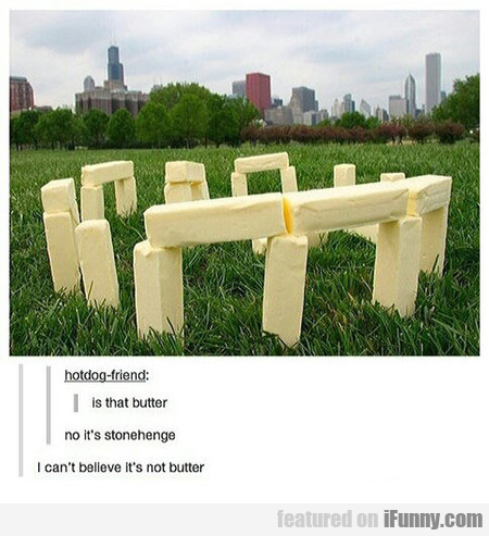 Is That Really Butter?