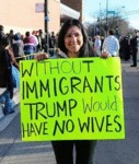 Without Immigrants Trump Would Have No Wives...
