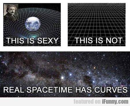 Real Spacetime Has Curves...