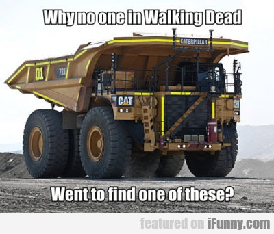 Why No One In The Walking Dead...