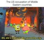 The U.s. Occupation Of Middle Eastern Countries...