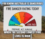 You Know Australia Is Dangerous...