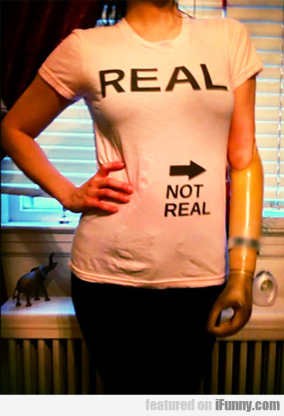 Real Vs Not Real...
