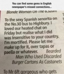 You Can Find Some Gems In English Newspapers