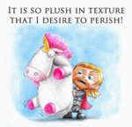 It Is So Plush In Texture That I Desire...