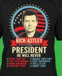 Rick Astley For President...