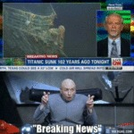 Breaking News.. Titanic Sinks 102 Years Ago...