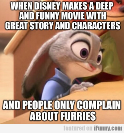 when disney makes a deep and funny movie...