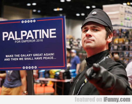 Palpatine For Emperor 2016