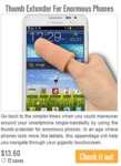 Thumb Extender For Enormous Phones...