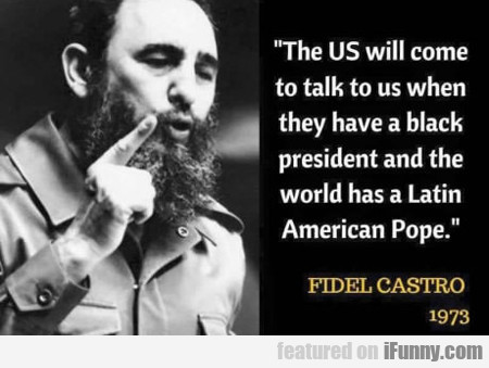 The Us Will Come To Talk To Us...