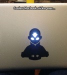 Coolest Macbook Sticker Of All Time...