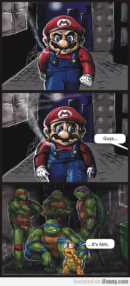 Mario Gets In Trouble
