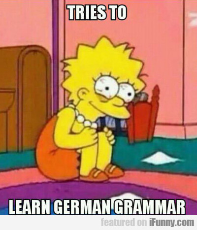 Tries To Learn German Language...