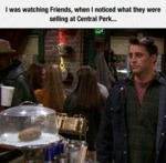 I Was Watching Friends When...