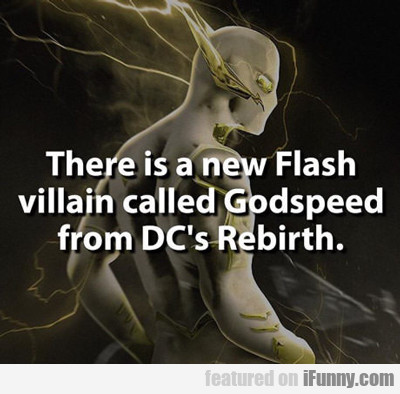 There Is A New Flash...