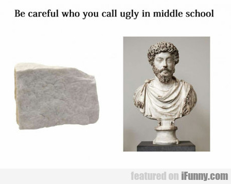 Be Careful Who You Call Ugly...